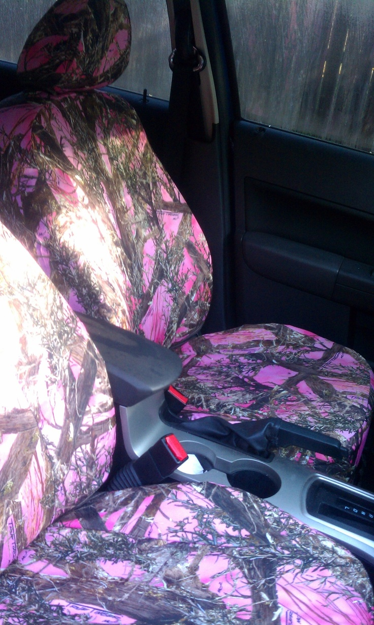 1000 Ideas About Pink Seat Covers On Pinterest Camo