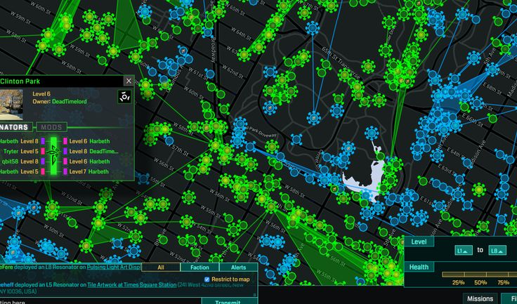 Ingress; One Million People Around You Are Playing an Alternate-Reality Game You Can't See;
