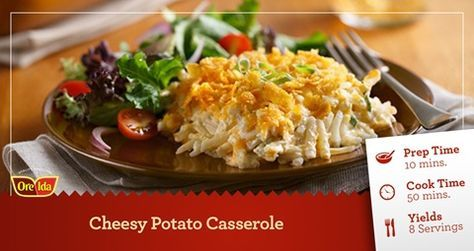 Ore-Ida - Recipes - Cheesy Potato Casserole
