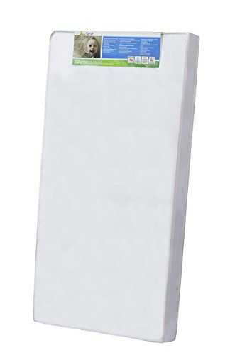 "Dream On Me 4"" Full Size Foam Crib and Toddler Bed Mattress"