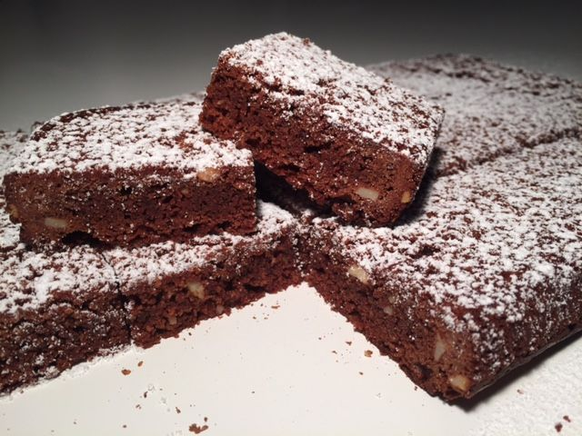 Lækre nemme chokoladesnitter - Opskrift-kage.dk