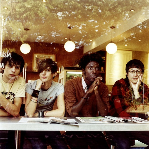 Bloc Party -- I hear they're on hiatus, but I think if they add to their catalog they're the next in line on the list of great British bands. My favorite songs of theirs include I Still Remember, Ion Square, Blue Light, So Here We Are, Signs, Banquet, Flux, Tulips, The Pioneers and Two More Years.