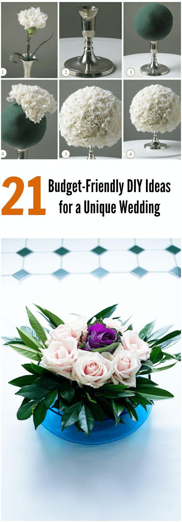 888 best Budget Friendly Wedding Decor images on Pinterest ...