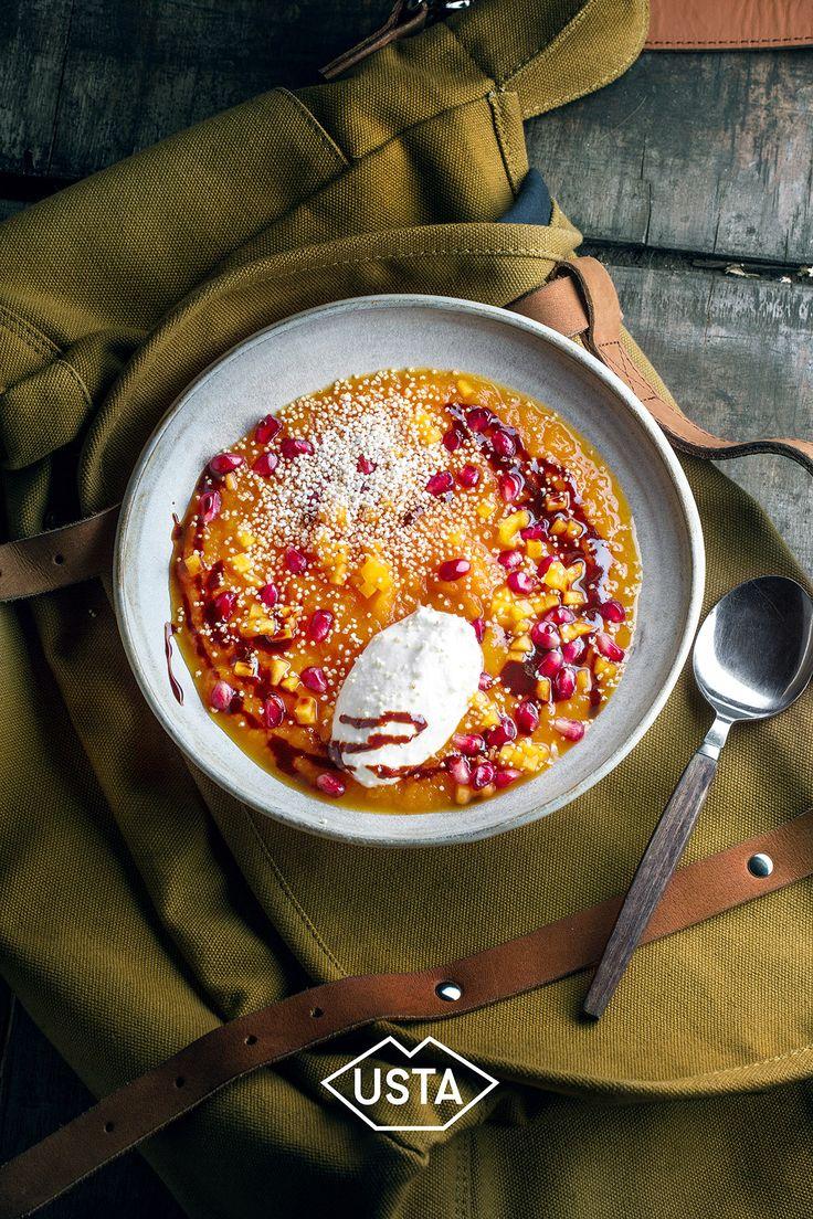rozpUSTA weekend recipe series by Magdalena Swieciaszek for USTA