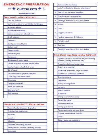 Best 25+ Emergency preparedness checklist ideas on Pinterest - creating checklist