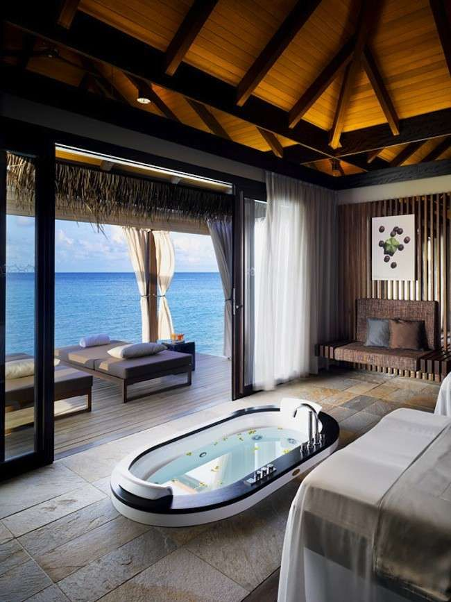 Velaa Private Island Maldive - Villa con vasca idromassaggio ...