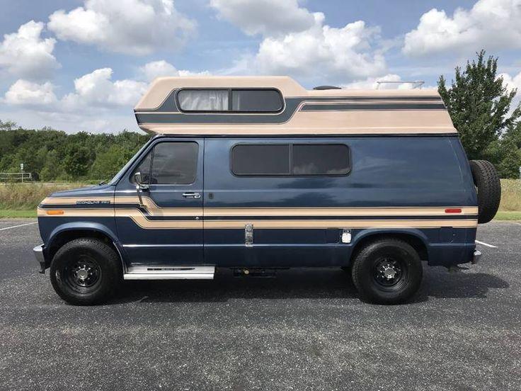 1986 ford e250 class b camper van for sale in grand rapids