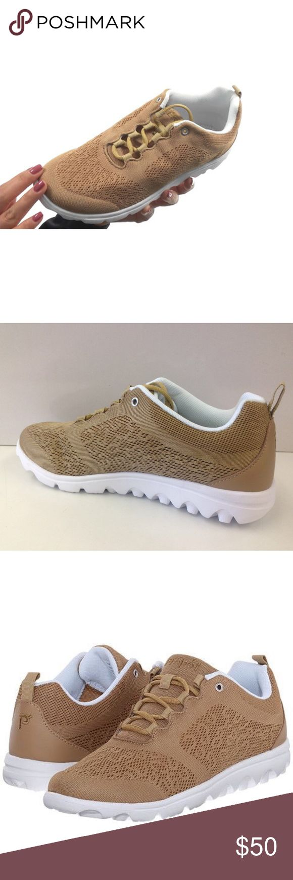 Propét Mesh Lightweight Sneakers The Propét series is here with engineered mesh and a lightweight outsole. Mesh. Imported. Rubber sole Lace-up sneaker featuring lightweight flexible outsole and removable footbed. Honey Color Propet Shoes Sneakers