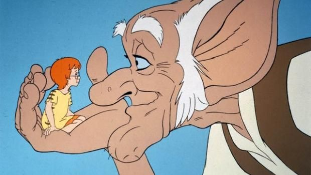Looking back at The BFG (1989)   Den of Geek ... With Steven Spielberg's The BFG in cinemas, we look back at the 1989 Cosgrove Hall adaptation feat. David Jason… On Christmas day 1989, ITV premiered the most charming child abduction story ever told: Cosgrove Hall's animated adaptation of Roald Dahl's The BFG. Read more: