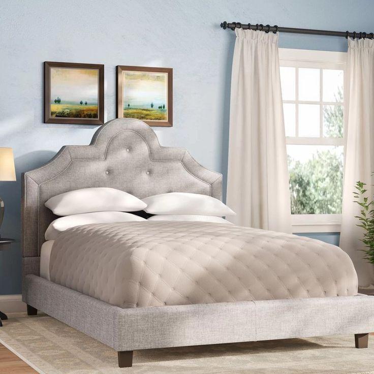 Best Carrollton Upholstered Panel Bed Reviews Birch Lane 400 x 300
