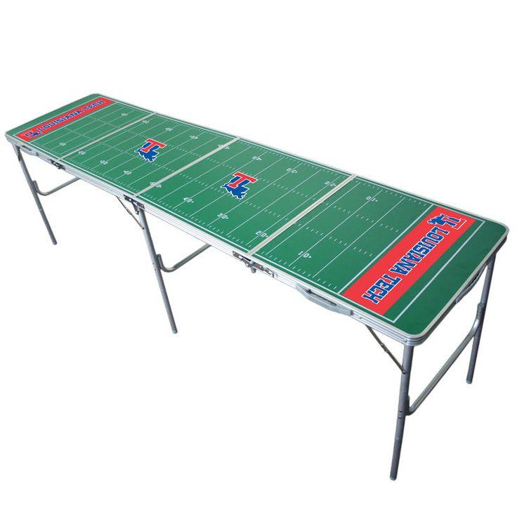 Louisiana Tech Bulldogs 2' x 8' Tailgate Table