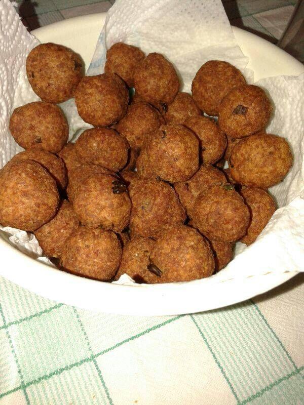 Polpette, Salento, Puglia, Italy #meatball #dominasalento #salento #puglia #italy
