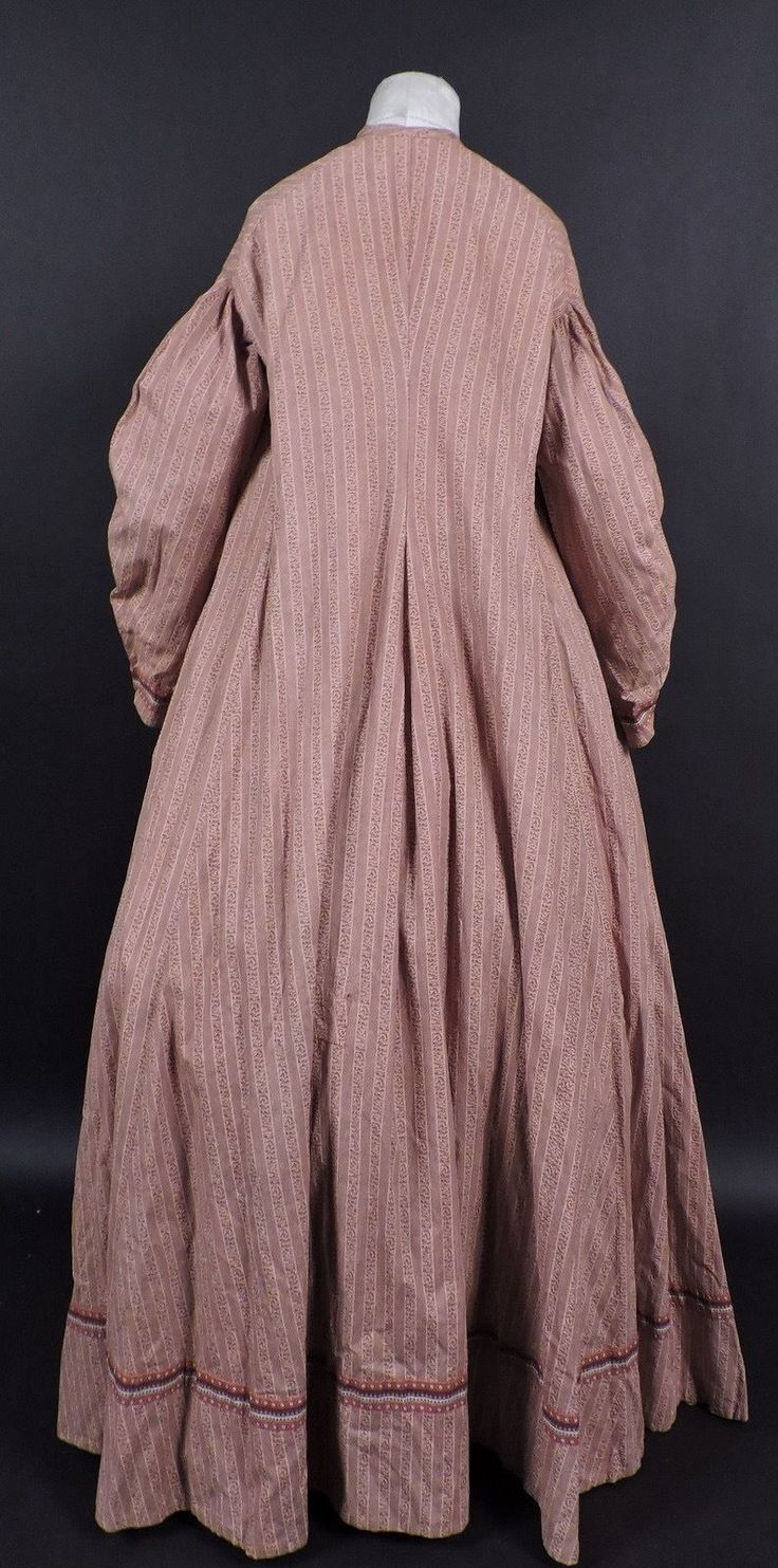 243 best victorian maternity gowns 1837 1901 images on pinterest civil war calico cotton maternity gown w full sweep ebay ombrellifo Images