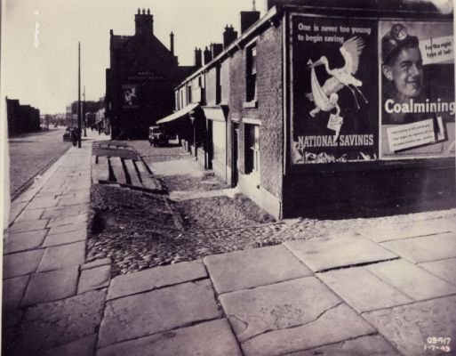The Hollow, Chorley Old Road 1949