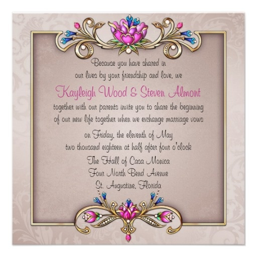 17 best images about jewel tone invitations on pinterest