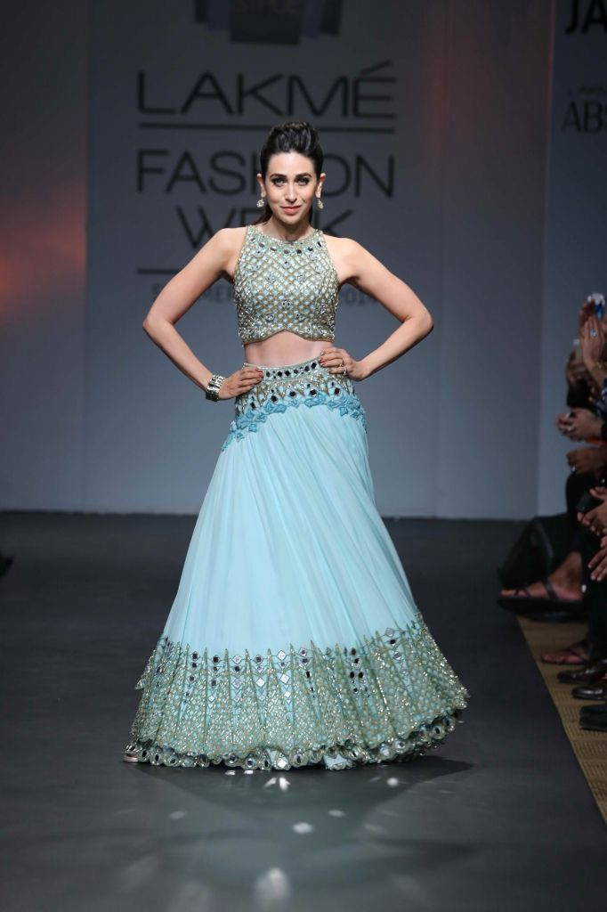 Lakme Fashion week: Summer 2014: Aprita Mehta bridal lehenga.