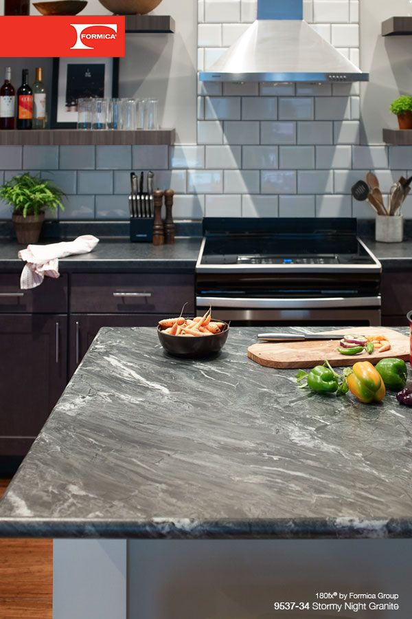Love The Drama Of Dark Granite Countertops But Not The Cost Or
