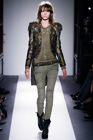 Balmain Militar/glam - give me this jacket posthaste.
