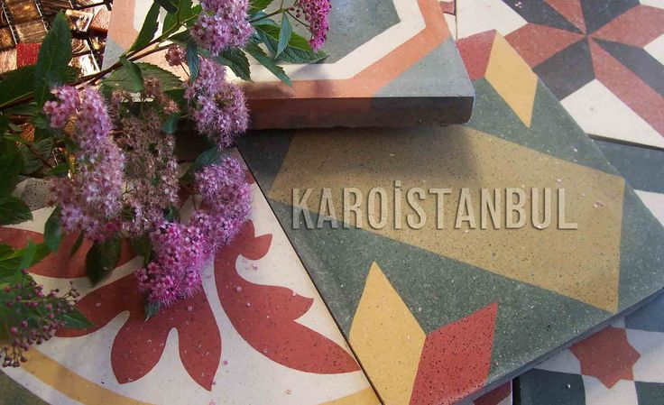 This cement tiles is great.