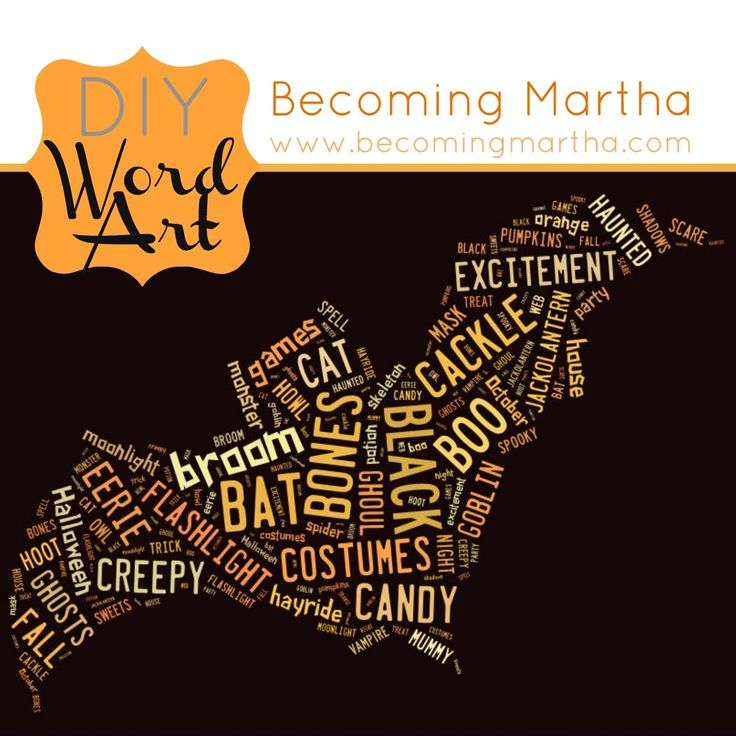 Becoming Martha: Creating your own Word ArtSeasons Piece, Art Work, Crafts Ideas, Art Piece, Word Art, Words Art, Wordart, Christmas Trees, Diy Words