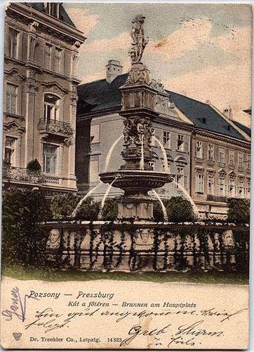 Rolandova fontána