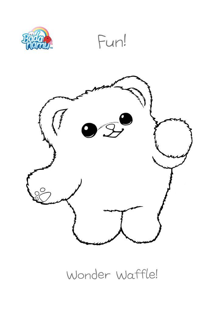 badanamu coloring pages - photo#2