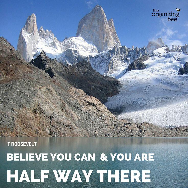Believe #motivationmonday http://www.organisingbee.com.au/blog/2016/8/8/believe