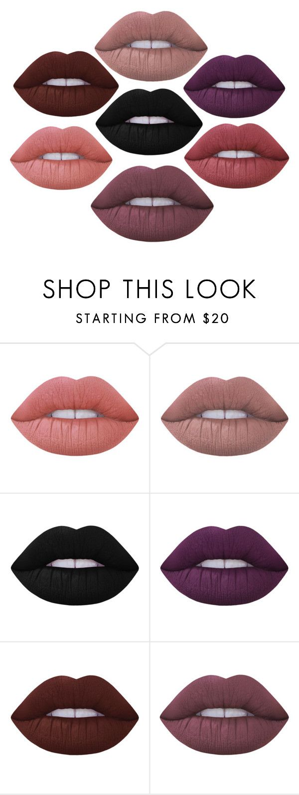 """Lime Crime Velveteens, Honey. #faves"" by emptyshadows ❤ liked on Polyvore featuring beauty and Lime Crime"
