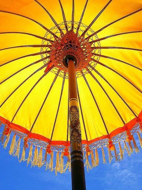 Hot!.... Balinese umbrella