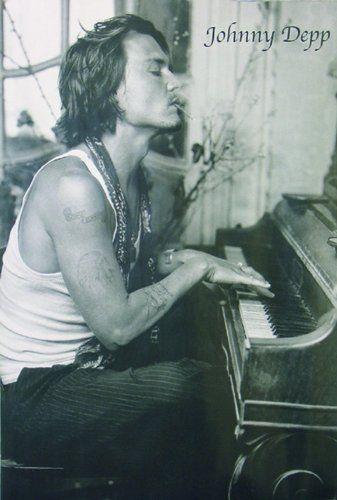 Amazon.de: Johnny Depp Poster Piano