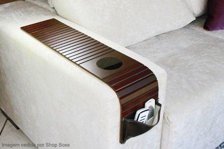 Compre já a sua Esteira longa para sofá com porta-controle e porta-copos + frete grátis, por R$ 49,90.