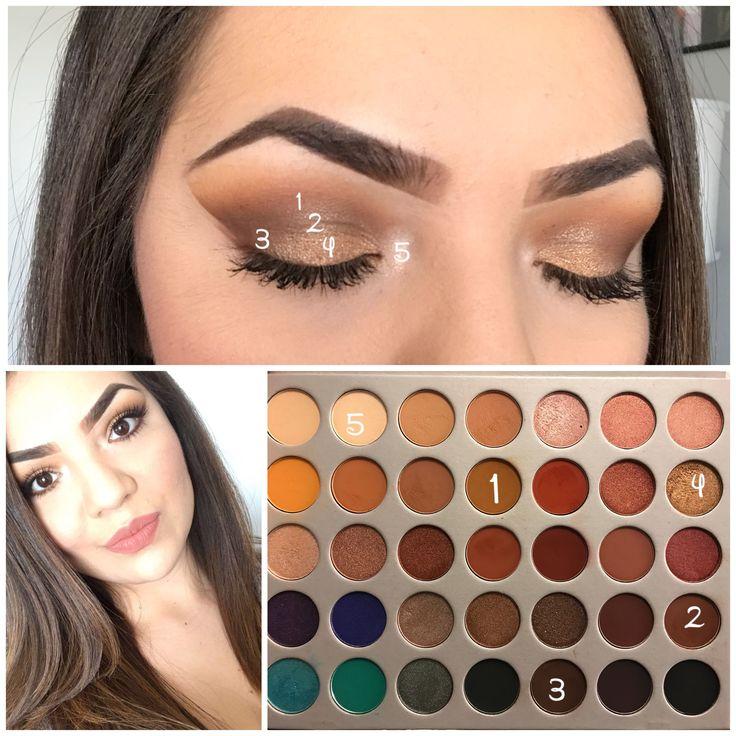Jaclyn Hill Makeup #Morphe #JaclynHillPalette