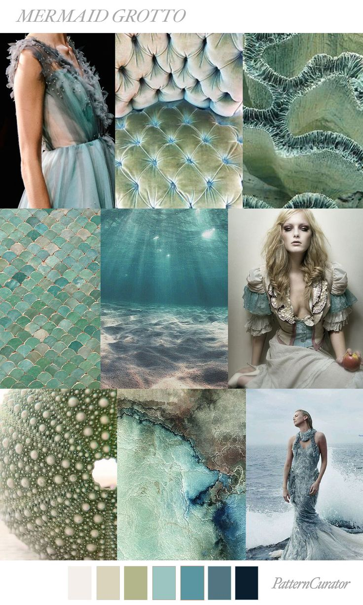 MERMAID GROTTO by PatternCurator