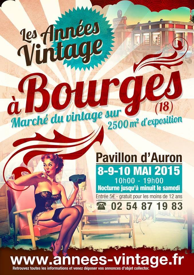Années Vintage - Bourges
