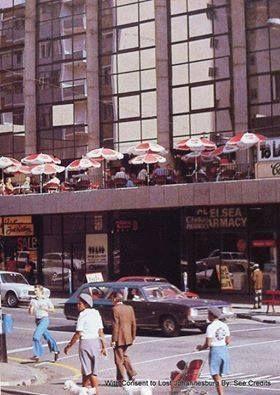 Cafe De Paris balcony, Kotze Street, Hillbrow