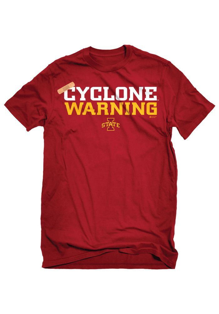 Iowa State (ISU) Cyclones - Cyclones Warning Black Basketball shirt http://www.rallyhouse.com/college/iowa-state-cyclones/a/mens/b/clothing/c/t-shirts?utm_source=pinterest&utm_medium=social&utm_campaign=Pinterest-ISUCyclones $19.99