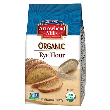 Made from hearty grain, Arrowhead Mills Rye Flour is a bread-baking favorite traditional to Eastern Europe. Our pure organic whole grain rye flour is sodium and cholesterol free, making it a new favorite for a variety of baking recipes it's no longer just for bread!
