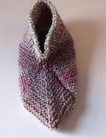 Easy Knitting Pattern For Short Row Slippers : 17 Best images about knitting/slippers on Pinterest Free ...