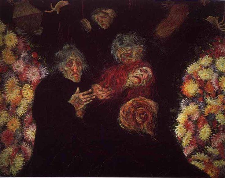 Boccioni  - Lutto - 1910