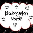 These 7 worksheets contain 35 Kindergarten sight words to read, stamp, and write. 31 of the words are from the Treasures Reading Series and 4 of th...