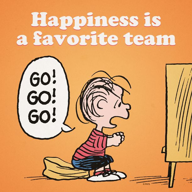 Happiness is a favorite team.