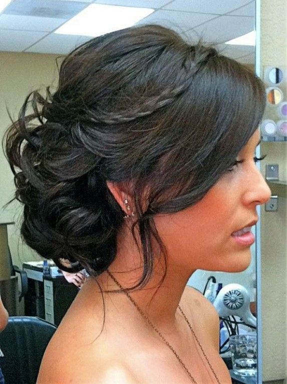 wedding updos for fine medium length hair