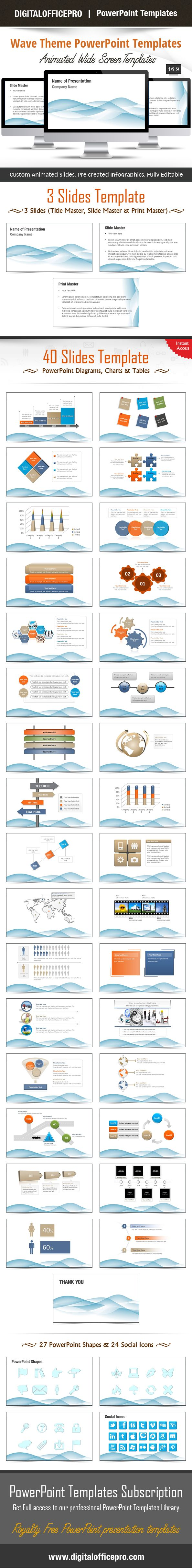 Oltre 20 migliori idee su download theme powerpoint su pinterest impress and engage your audience with wave theme powerpoint template and wave theme powerpoint backgrounds from toneelgroepblik Image collections