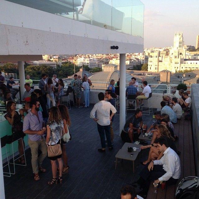 terraza en Madrid Hotel Innside Suecia http://instagram.com/p/rhuaVsNhp2/?modal=true