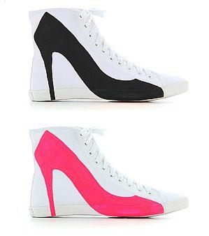 hakken of gewone schoenen?