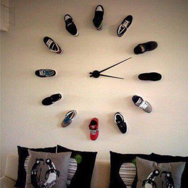 shoes clock | zegar z butów