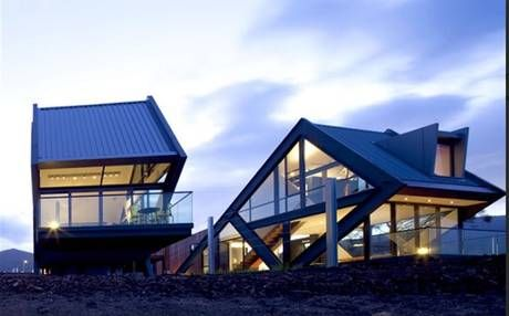 MONA Pavilions provide contemporary-designed, sophisticated accommodation on the outskirts of Hobart.