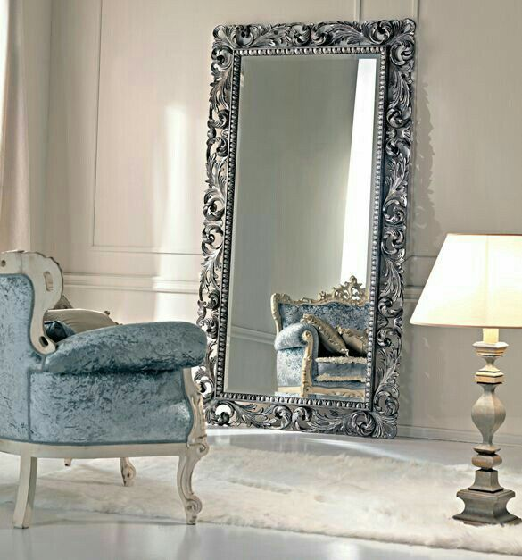 Paris Collection Large Silver Floor Mirror Time To Paint My Mirror Part 80