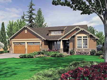 House Plans Walkout Basement Back Porch Dream Home Craftsman