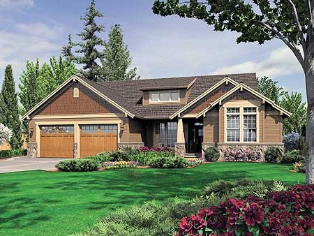 Plan 6964am charming bungalow on a budget walkout House plans with a walkout basement
